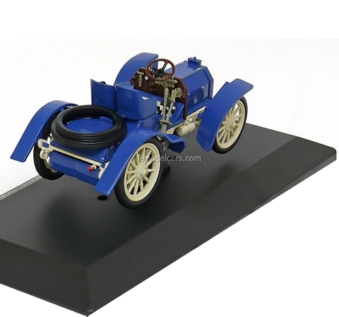 Mercedes Simplex 40 hp 1902 blue-white Altaya 1:43