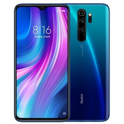 Смартфон Xiaomi Redmi Note 8 Pro 6/128GB Global Version Blue (Синий)