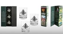 Подарочный набор стаканов для виски «Слава защитникам отечества», фото 1
