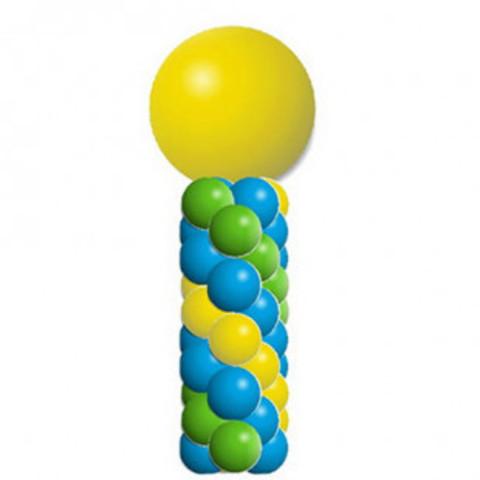 Поинт из шаров с большим шаром