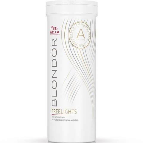 Wella Professional Blondor Freelights - Белая обесцвечивающая пудра