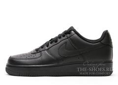 Кроссовки Мужские Nike Air Force Low Black