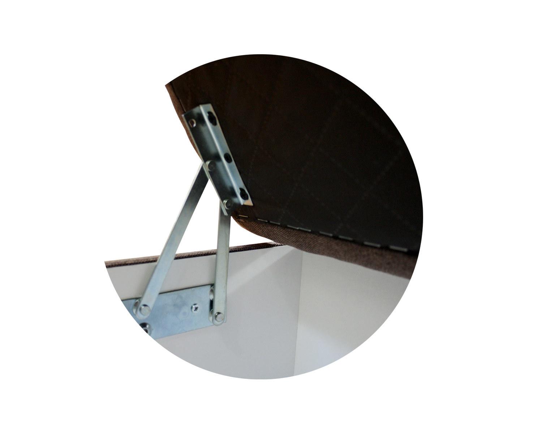 пуф Макс П5, механизм подъема крышки