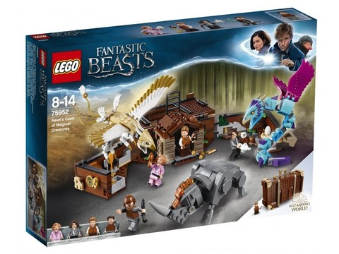 LEGO Fantastic beasts: Чемодан Ньюта с волшебными существами 75952 — Newt's Case of Magical Creatures — Лего Фантастические твари
