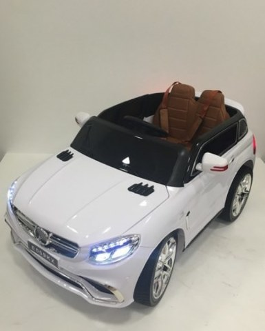 Детский электромобиль Rivertoys Mercedes E009KX белый