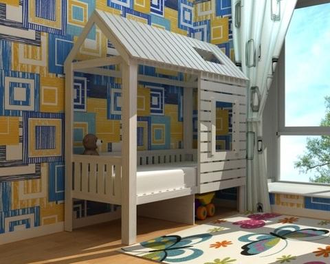 Кровать-домик АМИ-1 левая