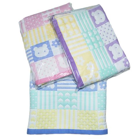 Плед-одеяло хлопок/лен (110х110) 5.6.ЖН35