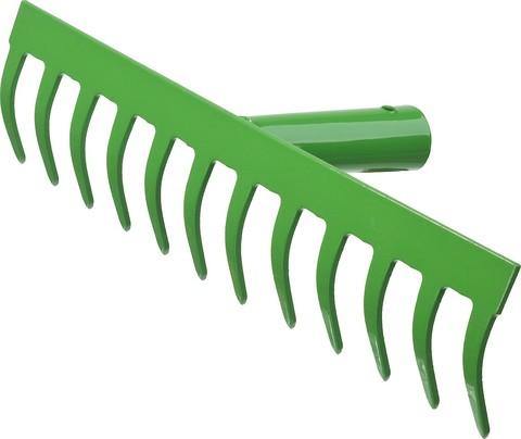 РОСТОК 14 прямых зубцов, 364x60 мм, грабли