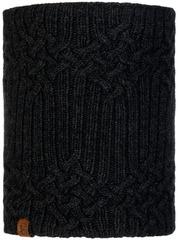 Вязаный шарф-труба с флисом Buff Neckwarmer Knitted Polar Helle Graphite