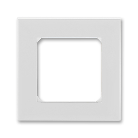 Рамка на 1 пост. Цвет Серый / белый. ABB. Levit(Левит). 2CHH015010A6016