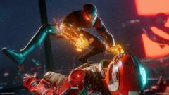 PS4 MARVEL Человек-Паук: Майлз Моралес (русская версия)