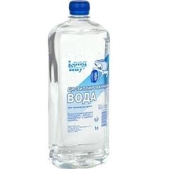 Вода дистилированная 1л
