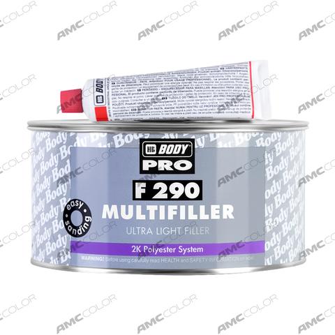 Шпатлевка Body 290 Ultra Light Multifiller Biege NEW (1л)