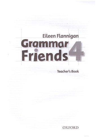 Grammar Friends 4: Teacher's Book