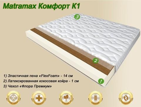 Матрас Матрамакс Комфорт К1 купить недорого от Megapolis-matras.ru