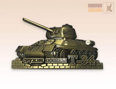 магнит Танк Т-34 (ЦАМ) правый