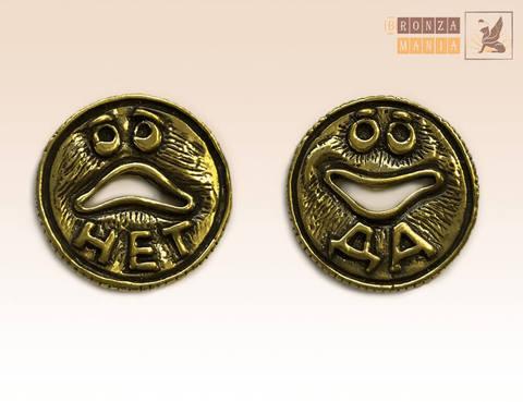 монетка ДаНетка эмоции