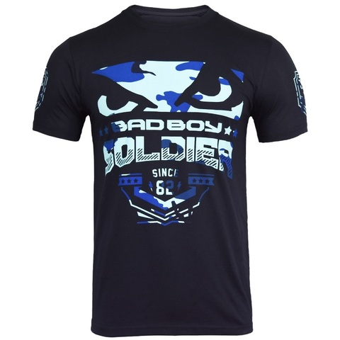 Футболка Bad Boy Soldier 2.0 T-shirt-Blue