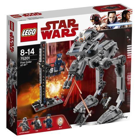 LEGO Star Wars: Вездеход AT-ST Первого Ордена 75201 — First Order AT-ST — Лего Звездные войны Стар Ворз