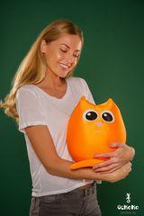 Подушка-игрушка антистресс «Кот Огонь» 2
