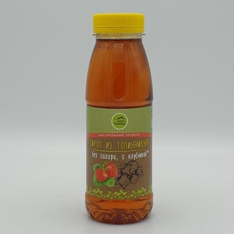Сироп из топинамбура с клубникой ДАРЫ ПАМИРА, 330 гр