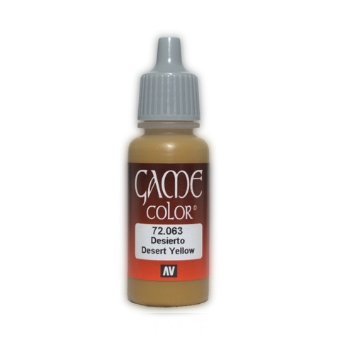 Game Color Desert Yellow 17 ml.