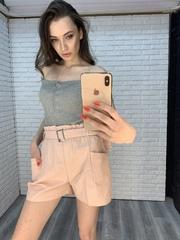 шорты с ремнем интернет магазин