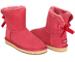 UGG Bailey Bow Mini Red