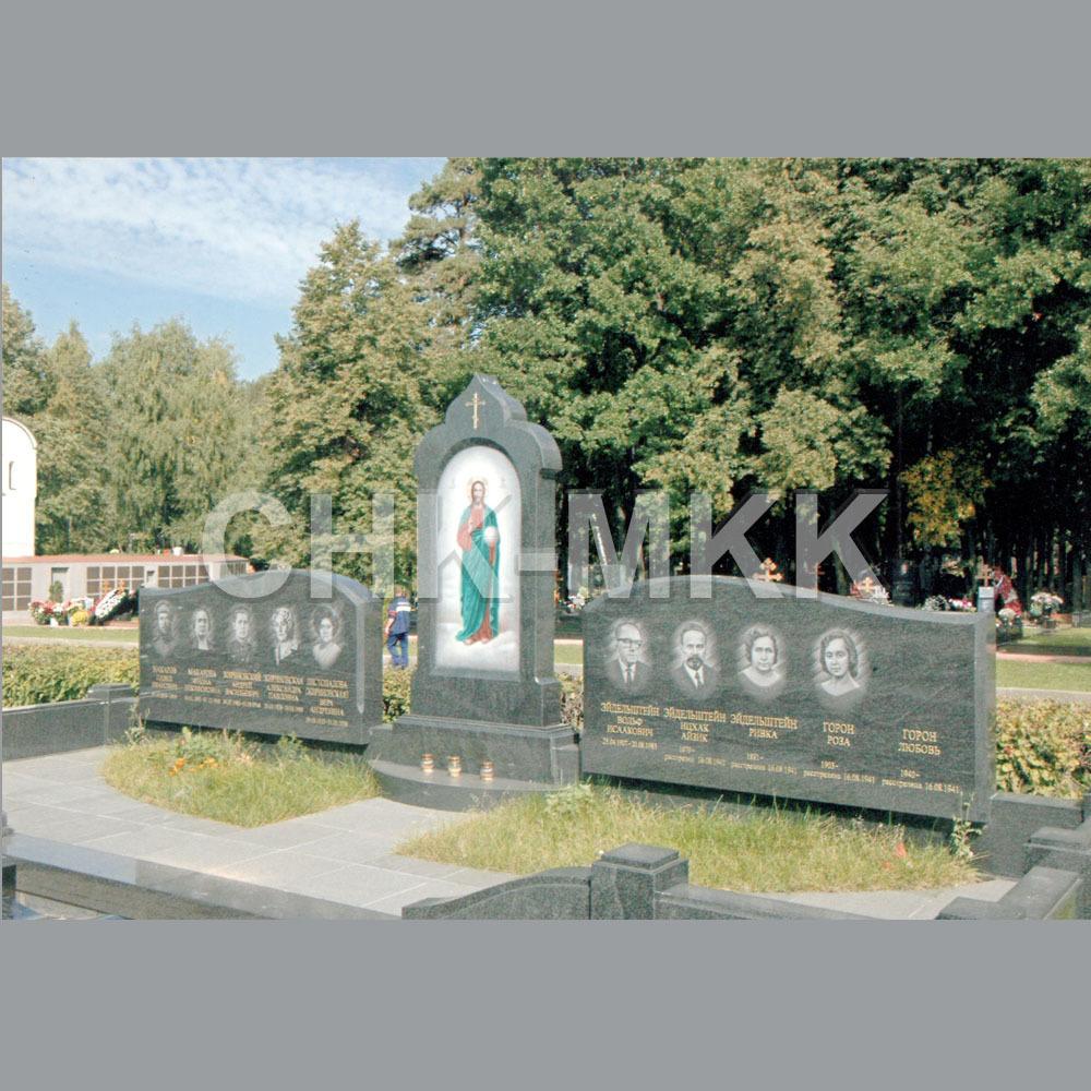 Гранитный комплекс семейного захоронения Жириновского В.В.