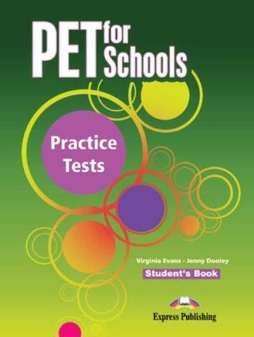 PET for Schools Practice Tests. Student's Book. Учебник + аудио!