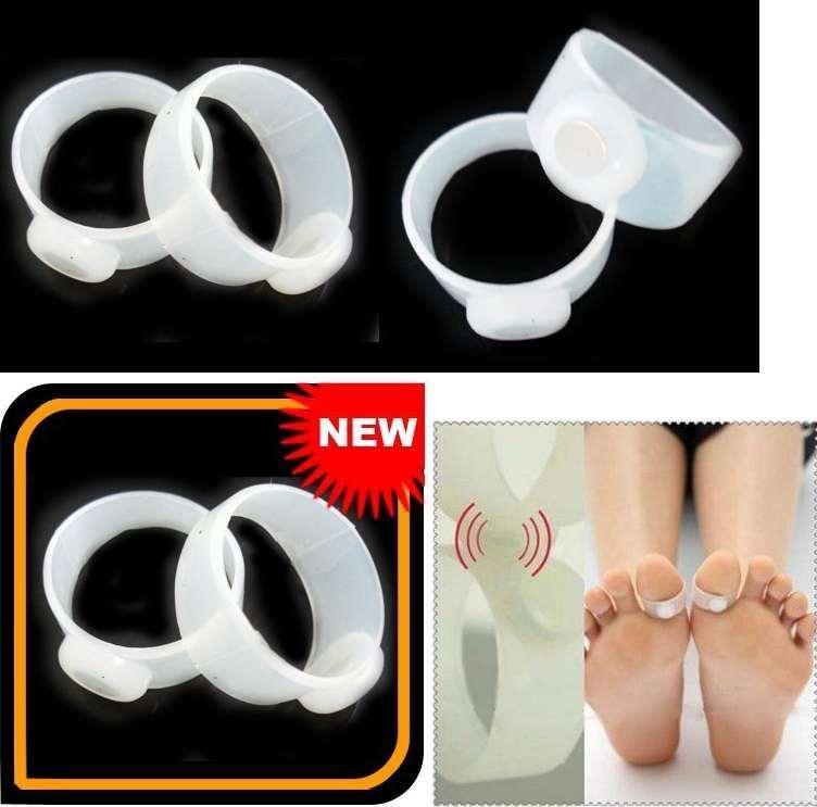 Силиконовые магнитные кольца для снижения веса, 1 пара