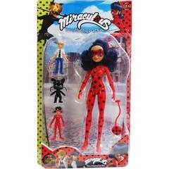 Леди Баг и Супер Кот кукла и друзья — Miraculous Ladybug Doll Toys