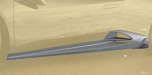 Карбоновые боковые пороги Mansory Style для Lamborghini Huracan