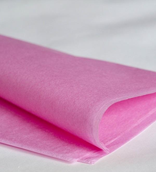 Бумага тишью, розовый