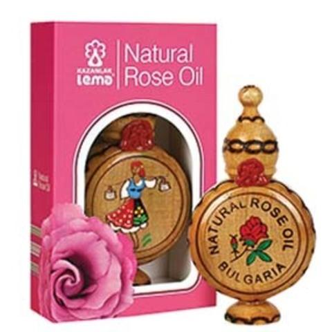 100% натуральное розовое масло (Rosa Damascema Mill) 0,5 мл