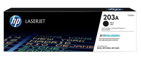 Оригинальный картридж HP CF540A 203A черный