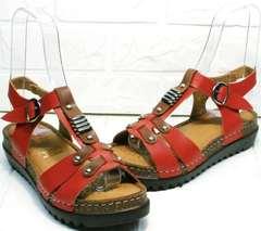 Модные сандали на пробковой подошве Rifellini Rovigo 375-1161 Rad.