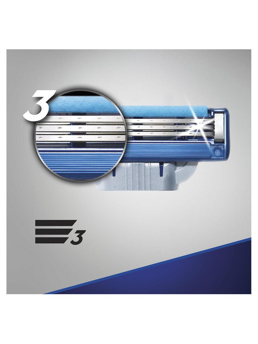 Mach3 Turbo комплект (3х8) 24 шт. (Цена за 1 пачку 940р.)