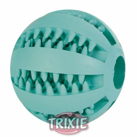"""Trixiе 3259 Игрушка д/собак """"мяч для бейсбола """"dentafun"""" зеленый , резина ф5см"""