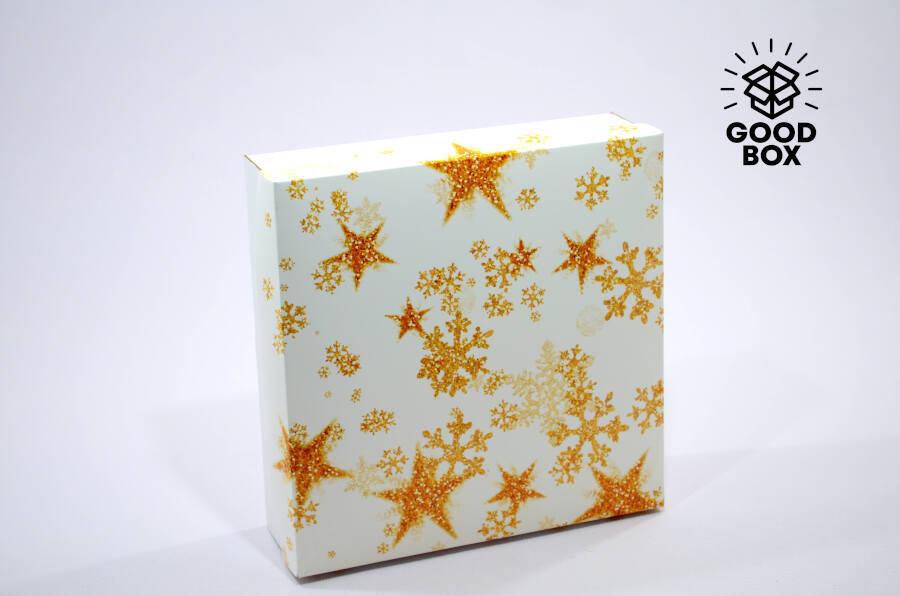 Крутые новогодние коробки купить с доставкой в Казахстане