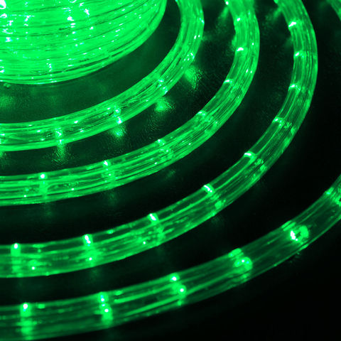 LED 10 метров готового набора шланга дюралайт 10 метров зеленый цвет