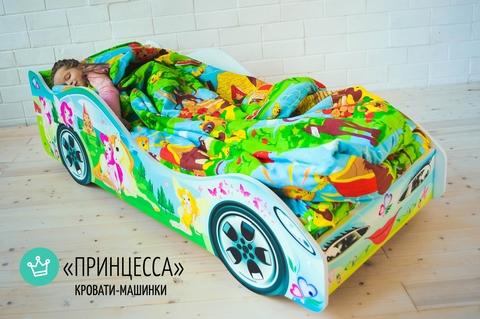 Кровать машина Принцесса