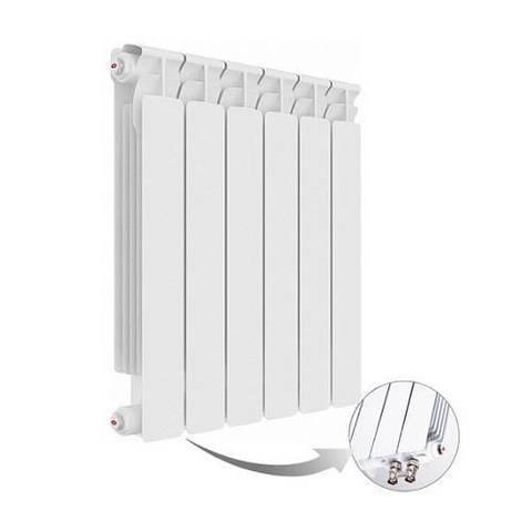 Радиатор биметаллический секционный Rifar Alp Ventil 500 - 11 секций (подключение нижнее левое)