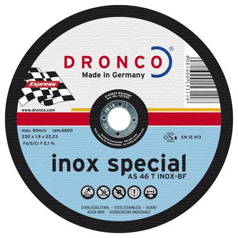 Абразивный отрезной диск Dronco AS 46 INOX 150х1,6