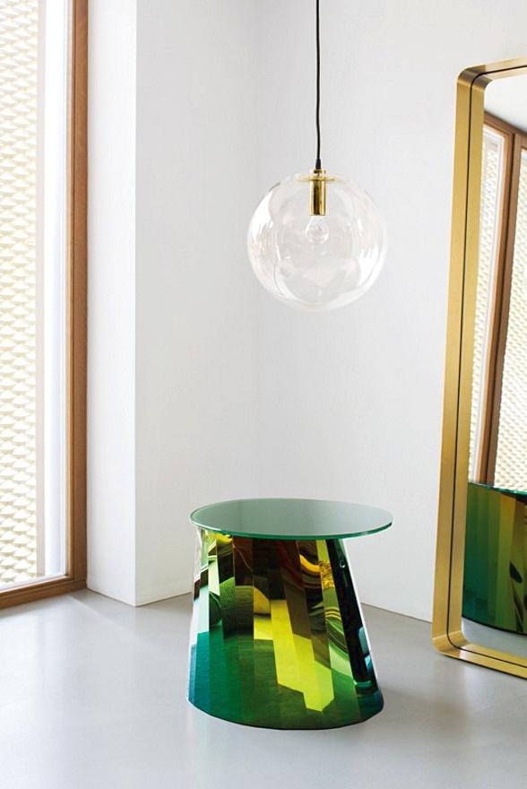 Подвесной светильник копия SELENE by ClassiCon D35 (золотой)