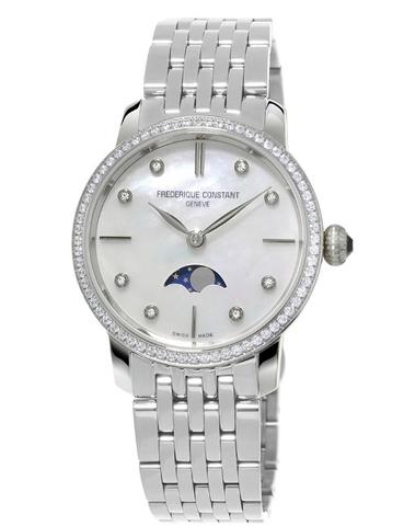 Часы женские Frederique Constant FC-206MPWD1SD6B Slimline Ladies