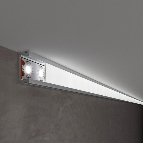 Накладной алюминиевый профиль для светодиодной ленты LL-2-ALP006