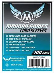 Протекторы для настольных игр Mayday Euro Card (59х92) - 100 штук