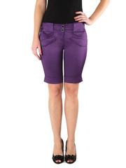 2276-1 шорты женские, фиолетовые