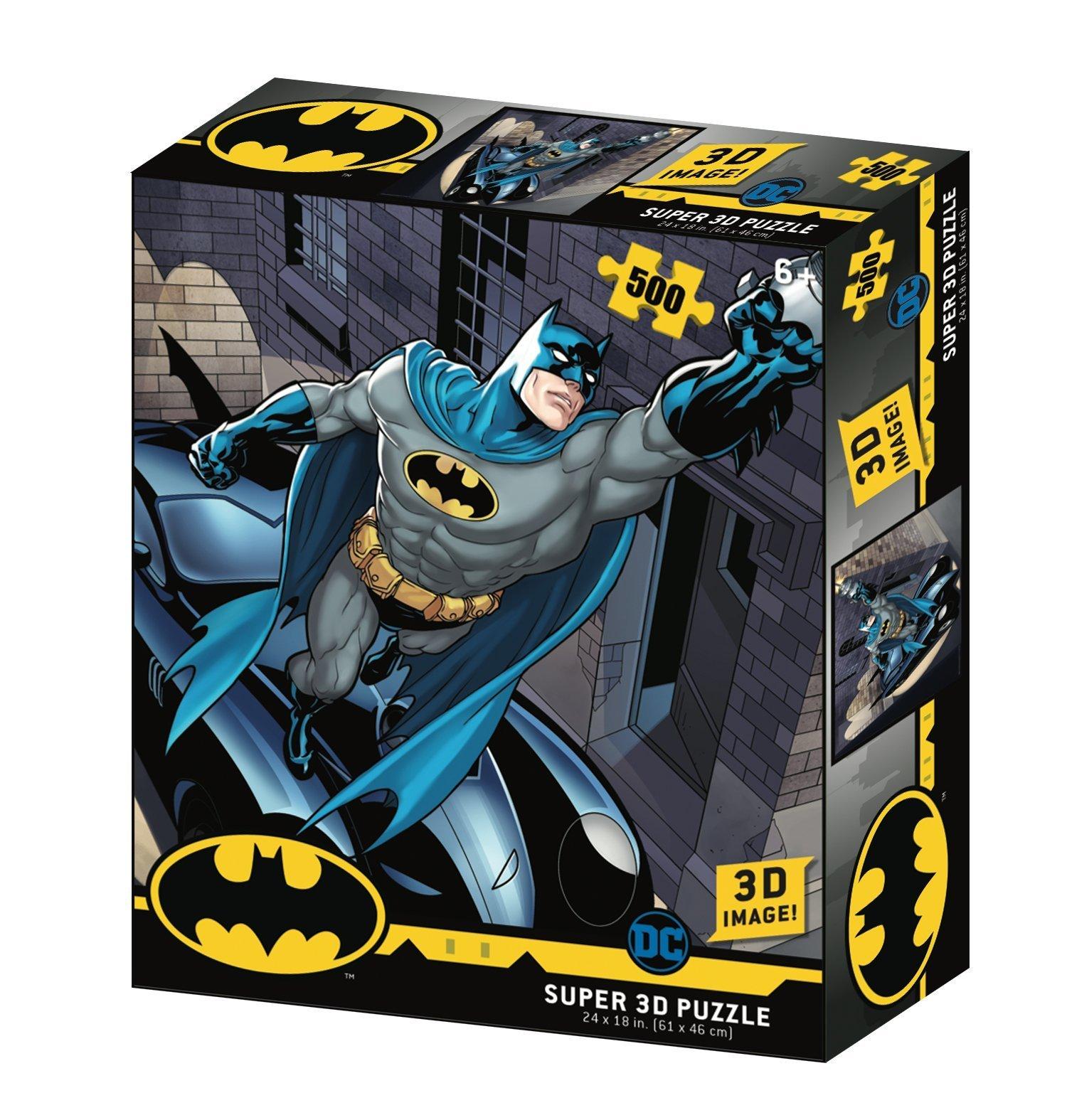 Пазл Super 3D «Бэтмобиль», 500 деталей
